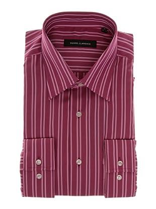 Pierre Clarence Camisa de manga larga (Rosa/Rojo)