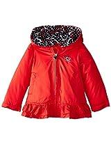 London Fog Baby Girls Poly Fleece Lined Jacket