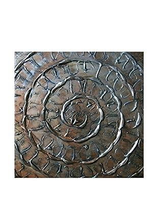 Legendarte Pintura al Óleo sobre Linezo Spirale D