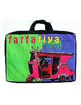 Pink Taxi Laptop Bag