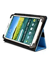Kroo Universal Multi Fit 6 to 8 Inch Tablet Folio Case, Light Blue (MU08EXB2-8344)