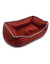Sofa Small Bed in Red for puppies