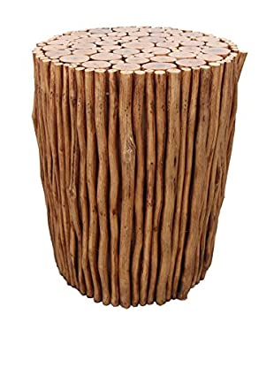 Asian Art Imports Natural Stick Stool