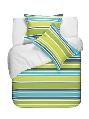 Casual Textil Funda Nórdica Game (Verde)