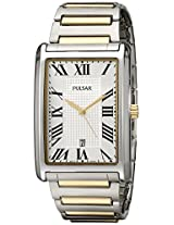 Pulsar Men's PH9051 Analog Display Japanese Quartz Two Tone Watch