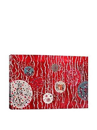 Lia Porto Gallery Zoom En El Bosque Rojo Canvas Print