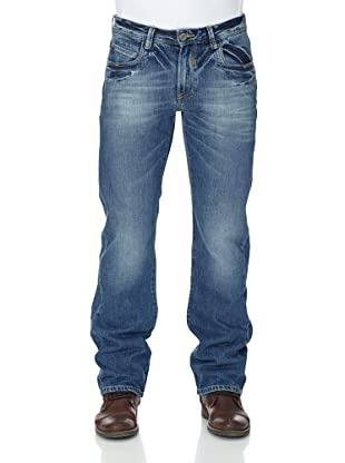 Cross Jeans Pantalón Vaquero Antonio Straight Leg (Azul)