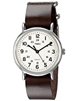 Timex Unisex Weekender Leather Watch