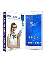 Cellbell Premium Tempered Glass Screen Protector for Sony Xperia Z3 (2.5D Curved Edges)(Clear)(Comes with Warranty)Complimentary Prep cloth