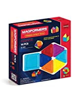 Magformers Standard Rainbow Opaque Solid Set (14-pieces)