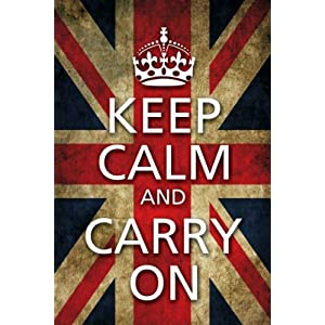 Posterboy 'Keep Calm and Carry On - Flag' Poster