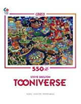 Steve Skelton Tooniverse When Sixes Were Nines 550 Pc Puzzle