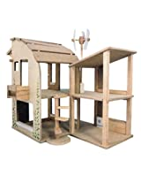 PlanToys The Green Dollhouse