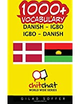 1000+ Danish-igbo Igbo-danish Vocabulary