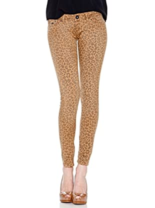 Pepe Jeans London Pantalón Feline (Marrón)