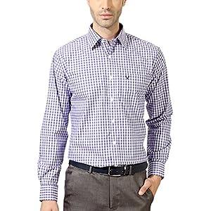 Allen Solly Multi Toned Button Down Checkered Shirt