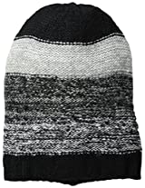 RAMPAGE Women's Ladies Striped Marled Beanie
