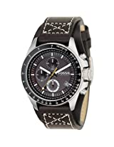 Fossil End of Season Decker Chronograph Brown Dial Men's Watch - CH2599