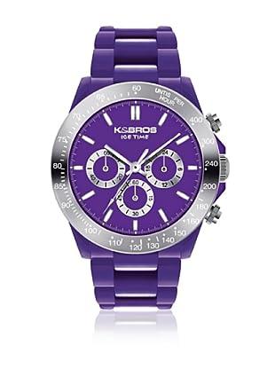 K&BROS Reloj 9542 (Violeta)