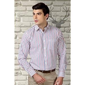 Allen Solly Striped Cotton Shirt
