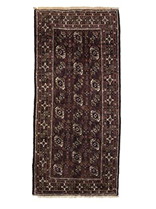 Darya Rugs Authentic Persian Tribal Rug, Red, 3' 7