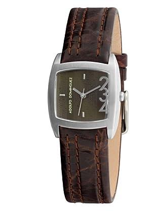 Adolfo Dominguez Watches 690211 - Reloj de Señora cuarzo correa de piel Marrón