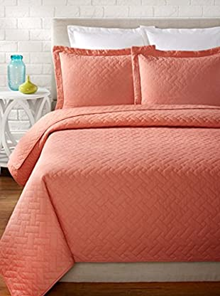 Tommy Bahama Solid Quilt Set