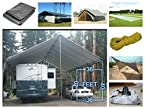 platinum Tent Tarpaulin Tent Tirpal Awnings Cover For Sheds Covers 40 / 36 feet 500GSM SOLID