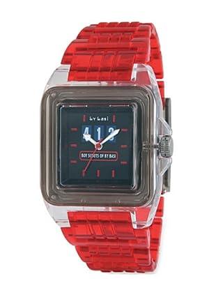 By Basi Reloj Jet Rojo Rojo