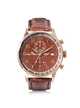 Lucien Piccard Men's 10503-RG-04 Montilla Chronograph Brown Leather Watch
