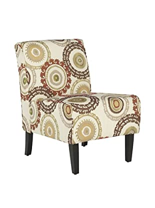 Safavieh Marka Armless Club Chair, Multi/Beige