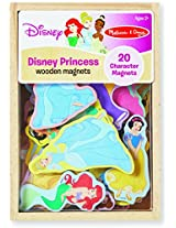 Melissa & Doug Disney Princess Wooden Magnets - 20 Character Magnets