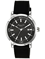 Kenneth Cole Dress Sport Analog Black Dial Men'S Watch - 10020835