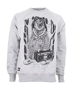 Seventy Seven Sweatshirt Boom Box Bear