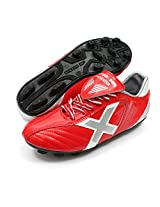 Vector X Manchester 001 Football Shoes, Men's UK 10 (Red/White)