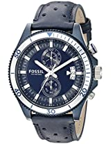 Fossil End-of-season Wakefield Analog Blue Dial Men's Watch - CH3012
