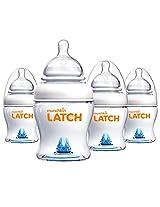 Munchkin 4 Ounce Latch BPA-Free Bottle (4 Count)