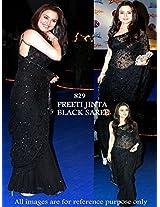 Preeti Zinta Bollywood Saree