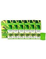 Vaadi Herbals Aloe Vera Facial Bars with Extract of Tea Tree, 25gm x 6