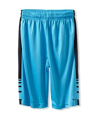 Reebok Boy's 8-20 RBK Mesh Short with Contrast Side (Turquoise)