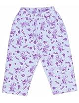 Chhota Bheem Legging With Chutki Print - Purple/White (0 - 6 Months)