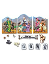Carson Dellosa Christian The Ten Commandments Bulletin Board Set