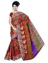 Saree Sansarr Saree (7113_Red)