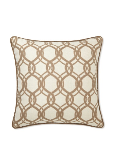 Elsa Blue Coco Olympia with Cord Indoor/Outdoor Pillow, 20