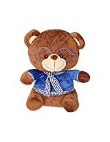 Soft Buddies Teddy Bear, Polyester Filling, Height - 30 cm, Multi Colour