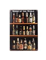 Imported 20x30cm Vintage Metal Tin Sign Plaque Wall Art Poster Cafe Bar Pub Beer #9
