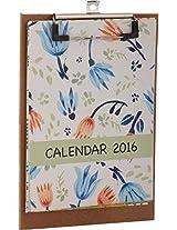 Jaira Designs 2016 Desktop Calendar, 6.25 inches x 0.25 inches x 9 inches
