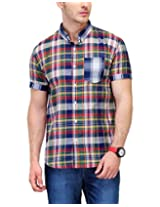 Yepme Men's Checks Multi-Coloured Cotton Shirt- YPMSHRT0534_42