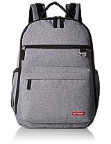 Skip Hop Duo Diaper Backpack, Grey