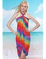 Rainbow Beach Sarong.